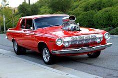 Pro Street Mopars | 1963 Dodge Hemi 330 Pro Street