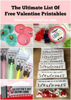 The Ultimate List Of Free Valentine Printables #valentinesday #valentine #printables