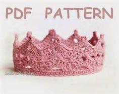 Princess Tiara Crochet Pattern - Bing Images