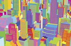 Yoni Alter City Scape Print