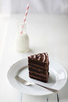 chocolate cake deluxe • call me cupcake