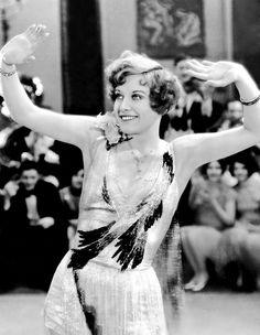 Joan Crawford in Our Dancing Daughters, 1928.