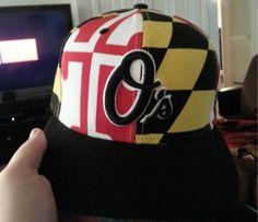 Orioles Maryland Flag hat Baltimore Orioles b5b469ebb252