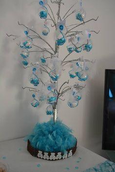 Ideas For Decor Table Anniversaire Bonbon Baby Shower Balloons, Baby Shower Fun, Baby Shower Parties, Baby Shower Themes, Baby Table, Diy Ombre, Graduation Party Decor, Baby Shower Centerpieces, Diy Party Decorations