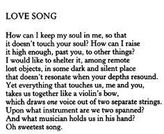 Rilke english gedichte
