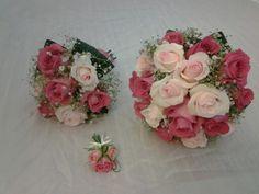 Ram de nuvia amb roses