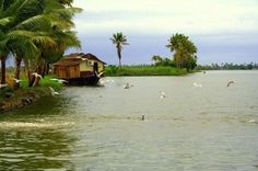 Alappuzzha backwaters,Kerala, India. Photo by Utpal Nath. Courtesy Wikimedia Commons
