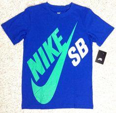NIKE SB SKATEBOARDING TEE Boys Youth Lrg 12-13yrs CAN FIT SMALL / XS MEN&WOMEN #Nike #Everyday