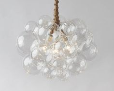 Dining room so cool in person nimbus chandelier chandeliers the large bubble chandelier 22 diameter aloadofball Choice Image