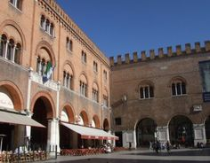 Treviso, Italy. At times too small for it's people's own good, but good to be small.
