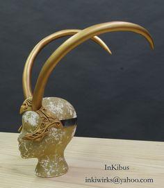 Lady Loki Enchantress tiara diadem horns helmet by InKibus on Etsy