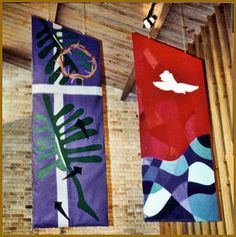 church banner patterns | ... church formerly st michael s episcopal church banners are designed to