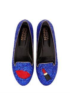 """Glitzer-Loafer """"Lipstick"""" von Chiara Ferragni auf shopstyle.de"""
