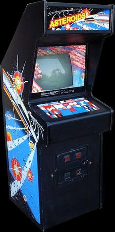 asteroids arcade machine - Google Search