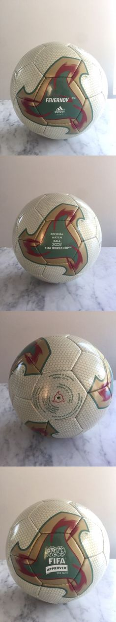 Balls 20863: Adidas Fevernova Korea And Japan World Cup Official Match Soccer Ball Teamgeist -> BUY IT NOW ONLY: $199.99 on eBay!