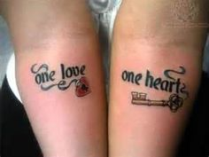 Matching Couple Tattoos So Cute