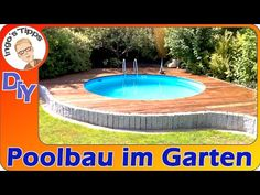 Build your own Swimmingpool in your Garden many Tips Kleiner Pool Design, Intex Pool, Build Your Own, Other Rooms, Pool Designs, Swimming Pools, Sweet Home, Backyard, Building
