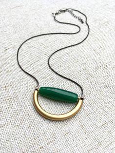 Réglable Gris Cordon mi-longueur Collier avec en bois olive... Bijoux