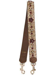 Dolce & Gabbana Alça de bolsa com aplicações