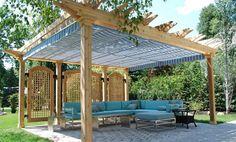 Pergola Canopies | Canopies | ShadeFXCanopies.com