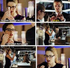 Arrow - Felicity & Oliver #2.20