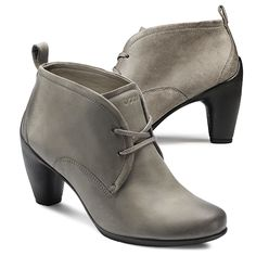ECCO SCULPTURED 65 - Low Cut Lace Boot, Visit http://ecco.com/facebook #eccosmile #sculptured65