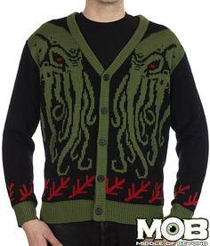 Cthulhu Lovecraft Cardigan