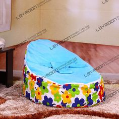 Baby Bean Bag Chair No Filler With 2pcs Up Cover