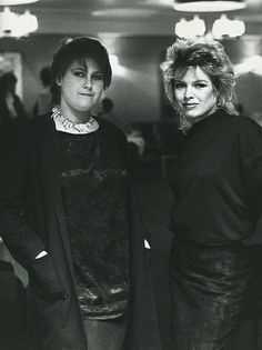 Kim Wilde and Alison Moyet (Yazoo)  - '80s music girls stars