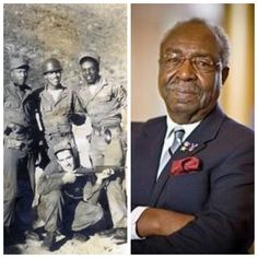 "James McEachin-Army-Korea-was one of only 2 soldiers to survive an ambush, received the Purple Heart and Silver Star (Actor) known for ""Perry Mason"""