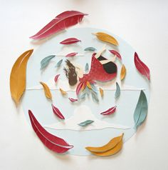 Pretty paper cuts from Sarah Dennis