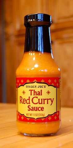 Savory Spicy Sweet: Product Rave: Trader Joe's Red Curry Simmer Sauce
