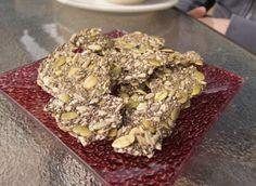Vegan Chia Seeds Crackers