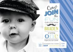 213 best 1st birthday invites images on pinterest first birthdays 1st birthday boys mustache photo invitation digital by uniquewv 1050 filmwisefo