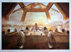 The Last Supper by Salvador Dali 1955