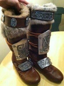 Celtic/Elvish boots