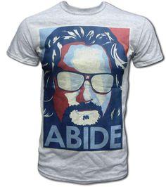 The Big Lebowski Abide Unisex T Shirt. Bad ass movie, bad ass shirt!