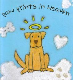 Paw prints in Heaven
