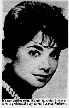 Suzanne Pleshette, 1961