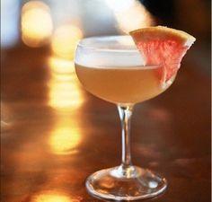 The Saint - Bourbon, Lemon Juice, Ginger Syrup, Lillet, Pamplemousse