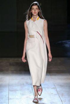 Look 26 of 32 Spring 2015 Ready-to-Wear Victoria Beckham Model Josephine van Delden (SUPREME)