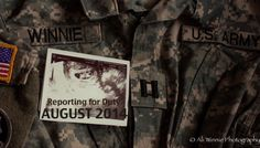 Baby Announcement- Military