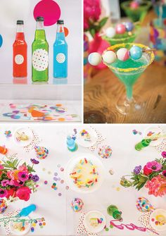 """Sprinkle Dot Fun"" Rainbow Birthday Blast"
