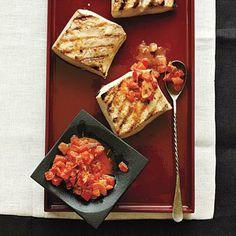 Mahimahi with Bacon-Tomato Butter   CookingLight.com