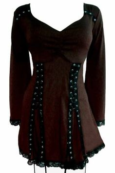 Love this!!!   Amazon.com: Dare To Wear Gothic Victorian Women's Plus Size Electra Corset Top: Clothing