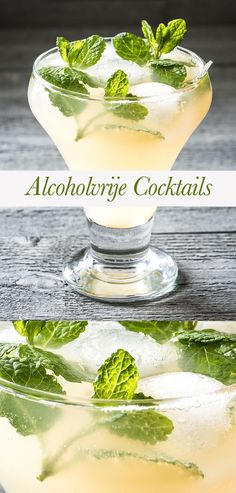 Alcohol-free cocktails much less sugar-Nutritious and quick Non Alcoholic Cocktails, Summer Cocktails, Smoothie Drinks, Smoothies, Yummy Drinks, Healthy Drinks, Healthy Soda, Cocktail Shots, Homemade Liquor