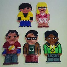 Big Bang Theory  perler beads by Anca