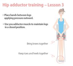 Learn how to tone your inner thigh step by step