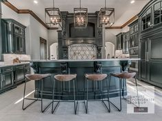Remodeled Luxury Estate with Tennis & Basketball Courts - 11600 Mill Hollow Court, Oklahoma City, OK 73131 Garage Door Strut, Car Garage, Luxury Estate, Luxury Homes, Wood Garage Kits, Garage Cabinets Diy, Garage Pictures, Residential Garage Doors, Office Suite