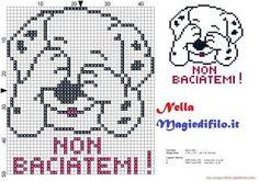 quilting like crazy Beaded Cross Stitch, Cross Stitch Baby, Cross Stitch Embroidery, Cross Stitch Patterns, Dog Pattern, Hand Embroidery Patterns, Cross Stitching, Pixel Art, Baby Knitting